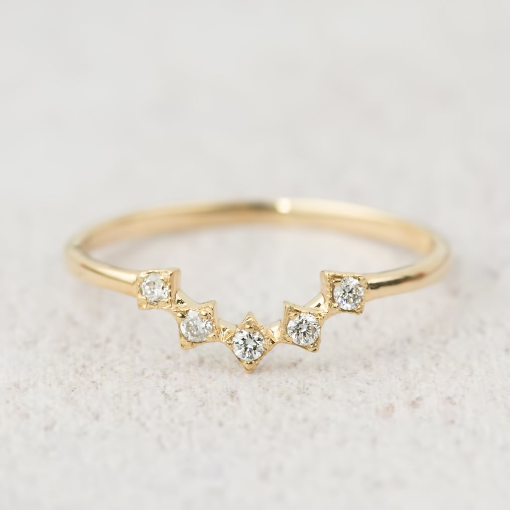 Star Tiara Ring