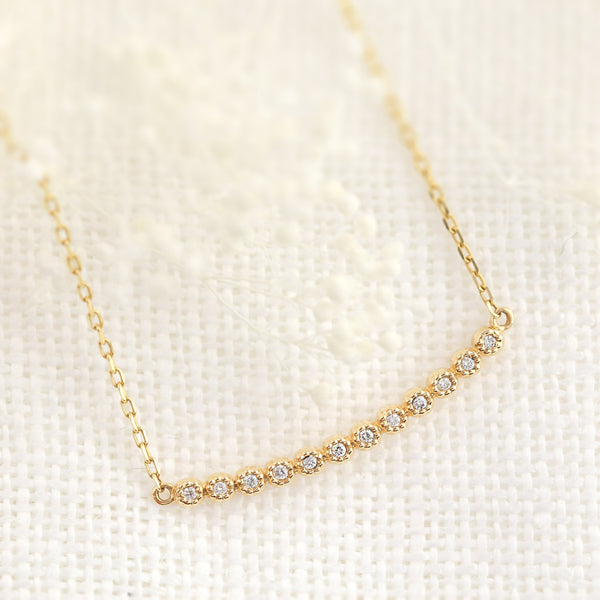 Dahlia Diamond Multi Necklace