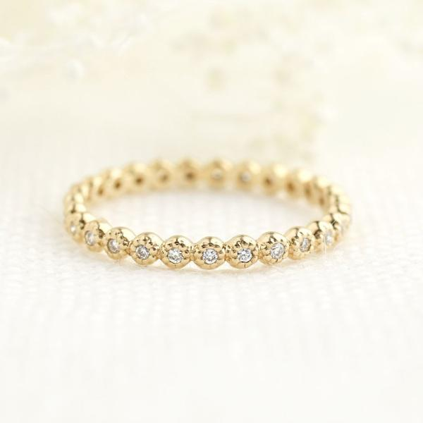 Dahlia Diamond Eternity Ring