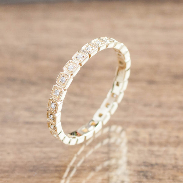 Hazel Eternity Ring