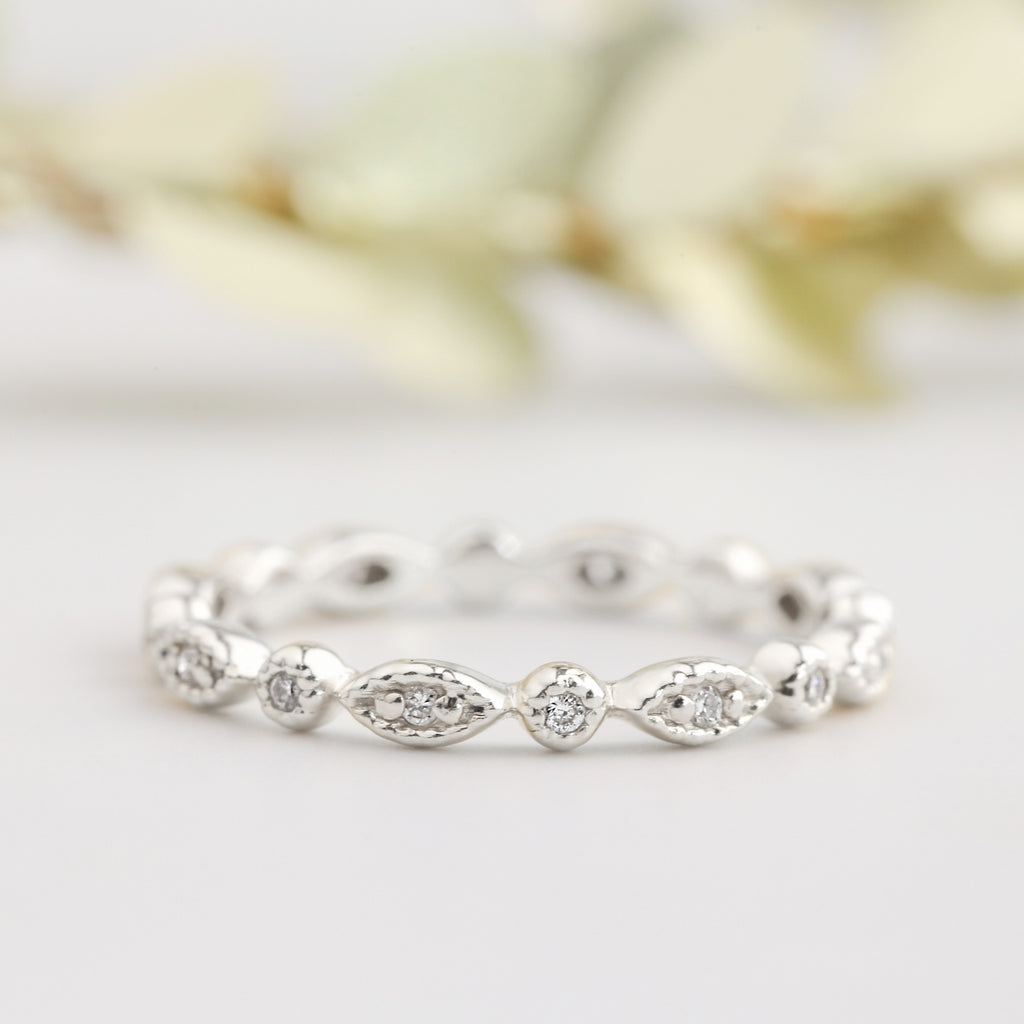 Tia Eternity Ring (Full or Half Eternity)