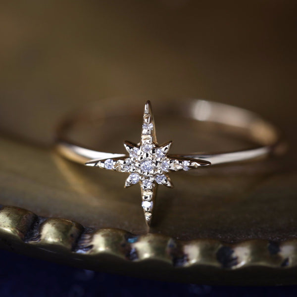 Starburst Diamond Ring -Small