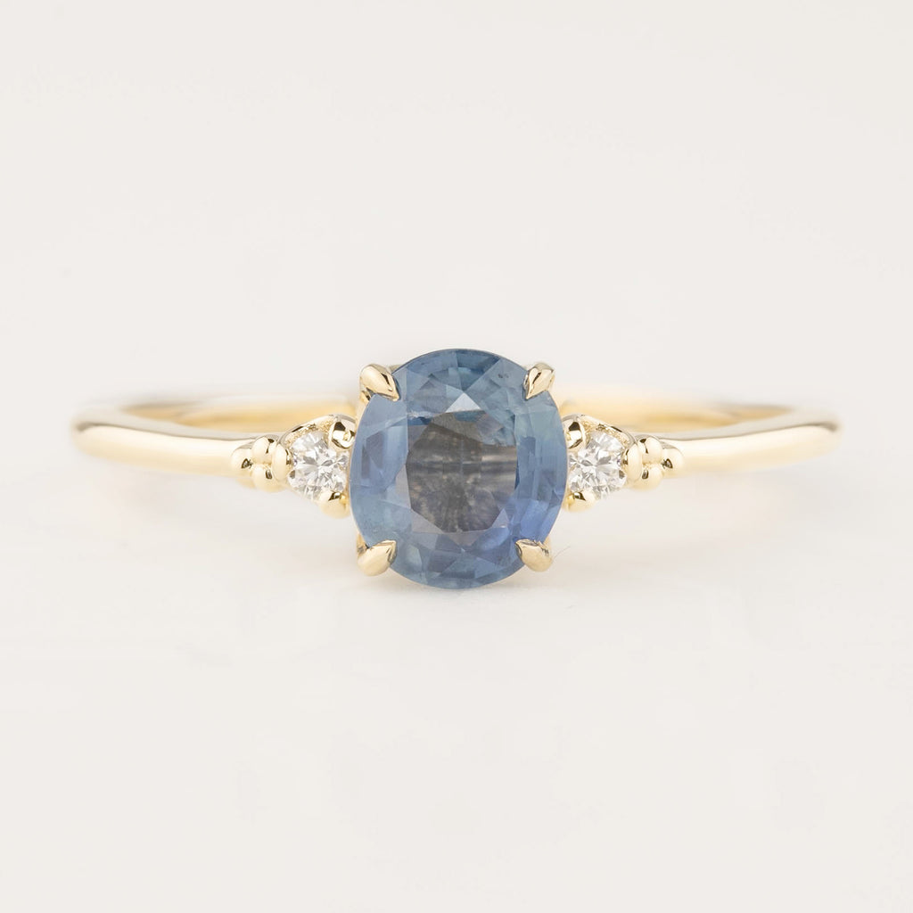Estel Ring - 1.25ct Blue Sapphire (One of a kind)