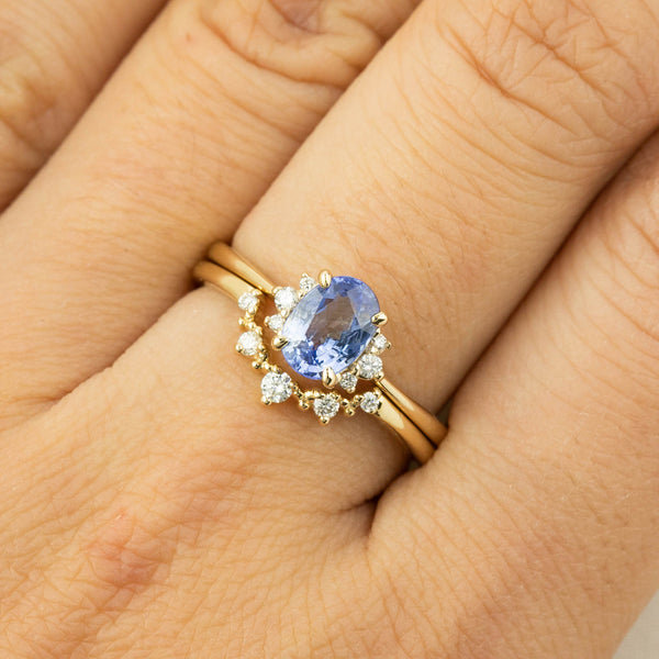 Lena Ring -1.17ct Ceylon Blue Sapphire (One of a kind)