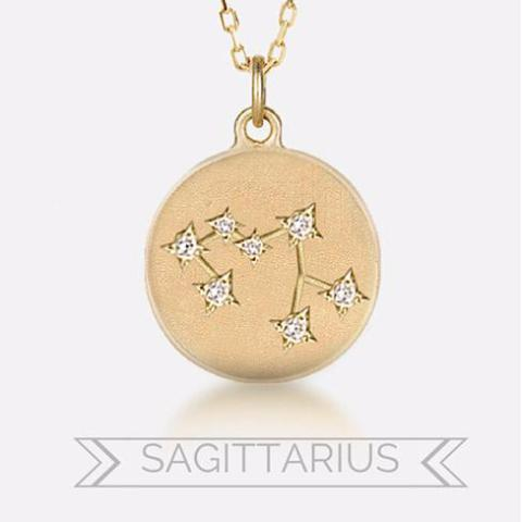Sagittarius Constellation Necklace