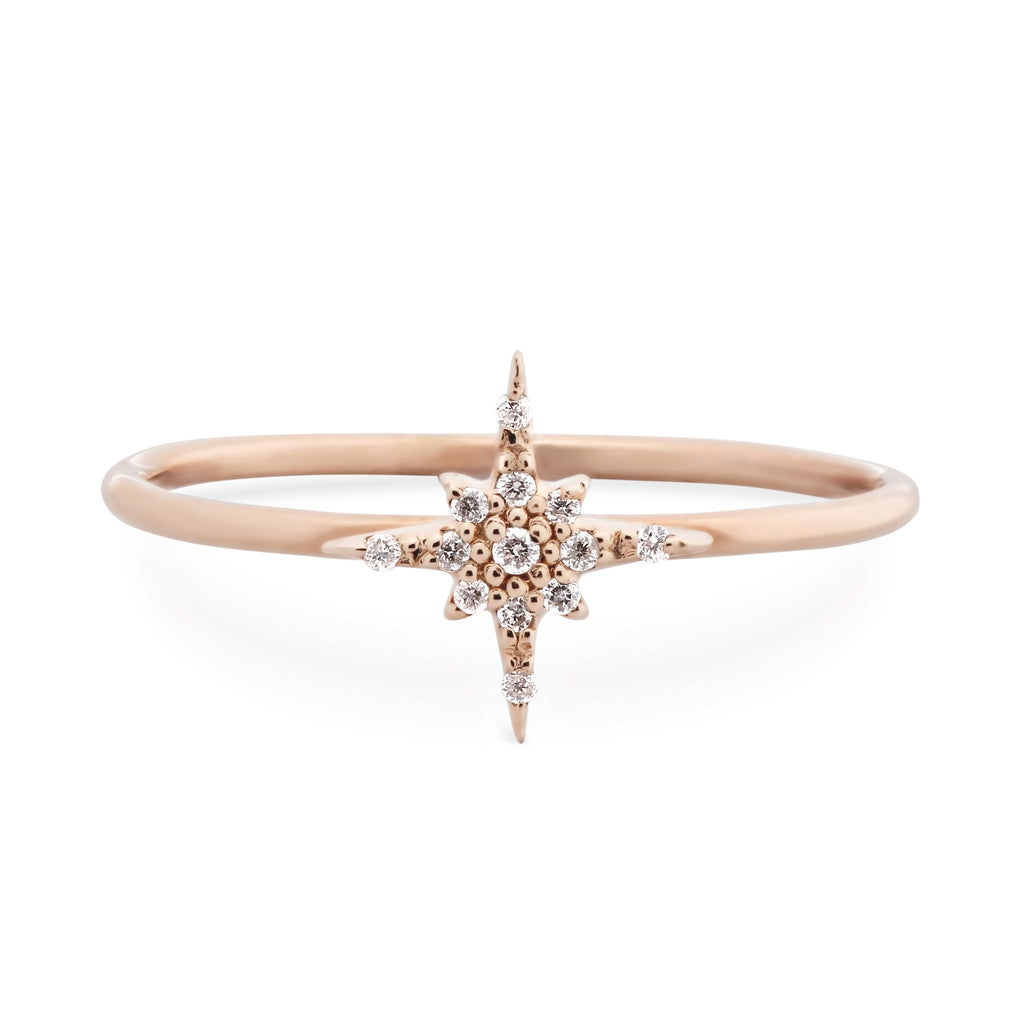 Starburst Diamond Ring