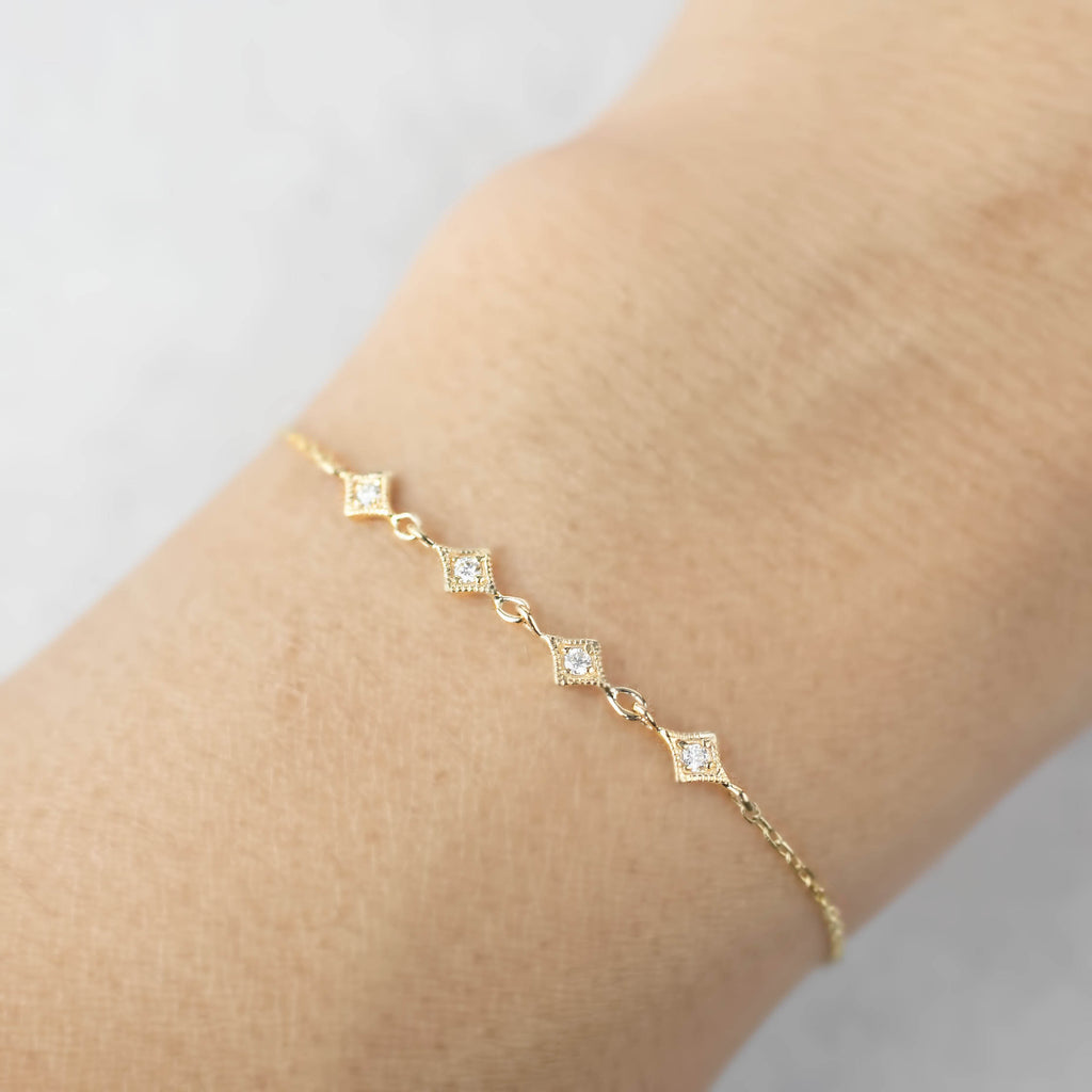 Star Diamond Multi Bracelet
