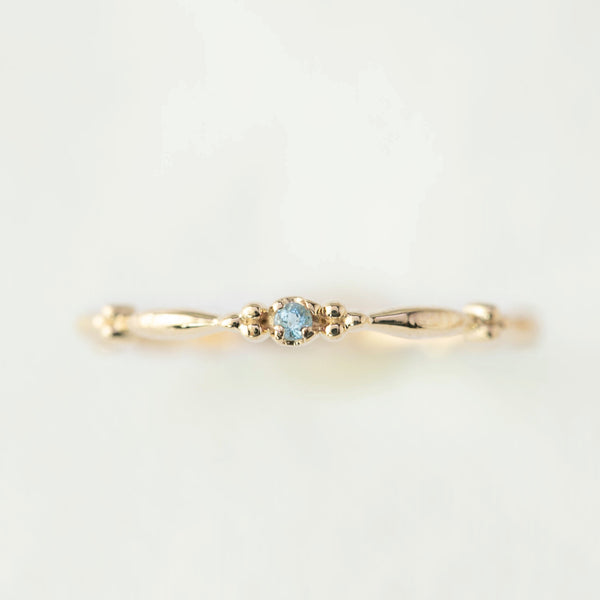 December - Topaz Rubette Ring