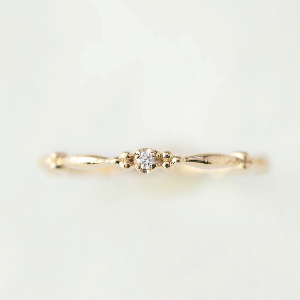 April - Diamond Rubette Ring