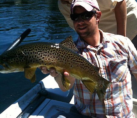 Bull Shoals Tailwater - August 15, 2011