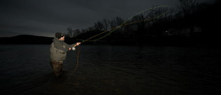 Spey casting on the White River!