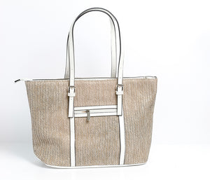 Large Canvas tote by David Jones Paris