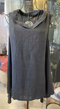 Load image into Gallery viewer, Cowl Neck Linen Tunic
