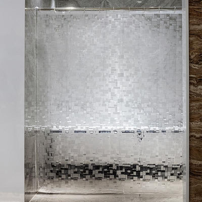 Rideau De Douche Peva Transparent