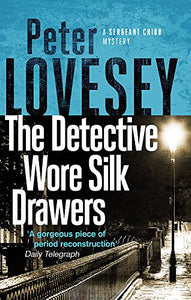 The detective wore silk drawers
