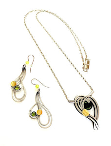 "Christophe Poly 22"" Necklace Sets (P1/U3) with Earrings"