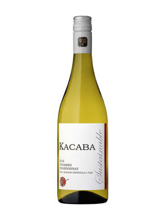 2018 Unoaked Chardonnay - Kacaba Vineyards Winery