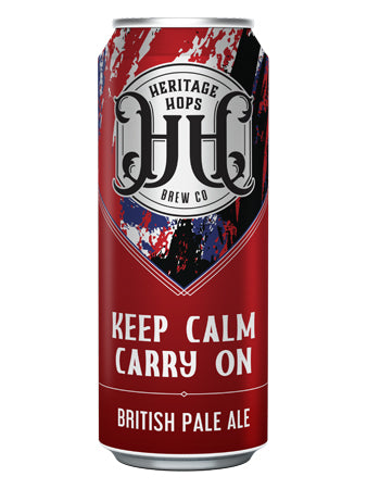 Heritage Hops British Pale Ale - Keep Calm Carry On