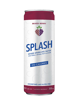 Splash Mixed Berry - Squeez'd Beverages