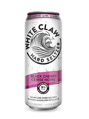 Black Cherry - White Claw Hard Seltzer