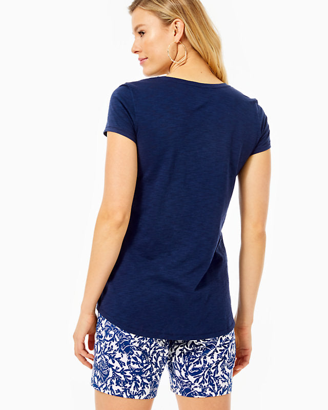 Load image into Gallery viewer, ETTA V-NECK TEE