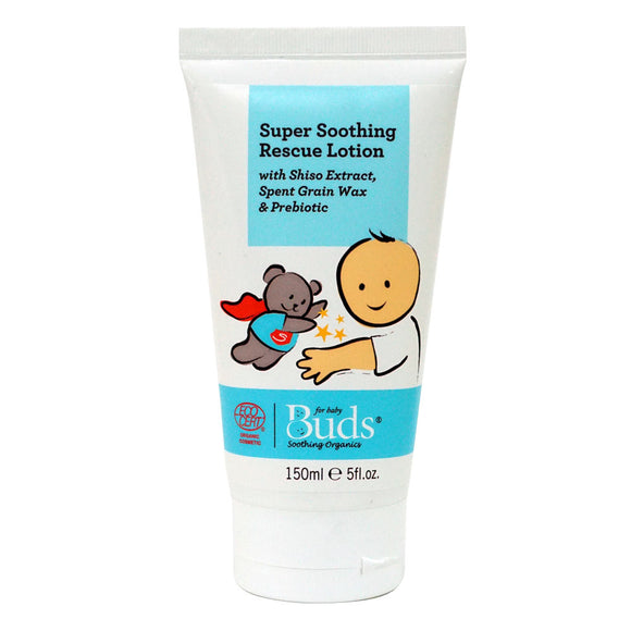 Buds Soothing Organics Super Soothing Rescue Lotion 150ml