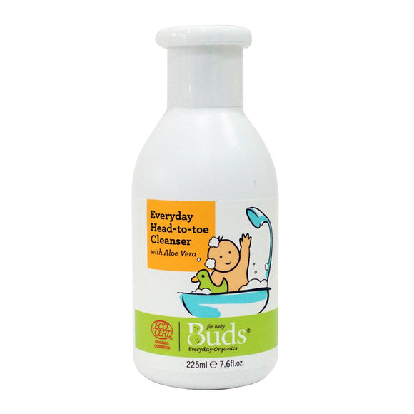 Buds Everyday Organics Everyday Head to Toe Cleanser 225ml