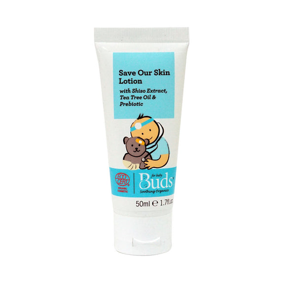 Buds Soothing Organics Save Our Skin Lotion 50ml (First-Aid Lotion)