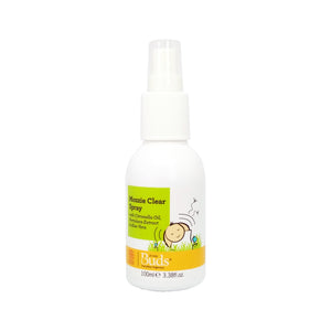 Buds Everyday Organics Mozzie Clear Spray 100ml