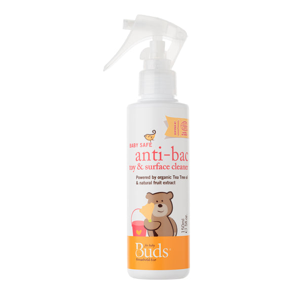 Buds Household Eco Baby Safe Anti-bac Toy & Surface Cleaner 150ml
