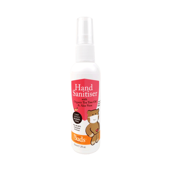 Buds Household Eco Hand Sanitiser 60ml