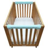 Wonder Bumpers Teething Guards in Minky - Mint Green