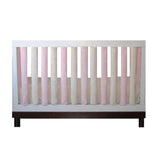Wonder Bumpers Minky - Pink & Cream 50% OFF NOW!