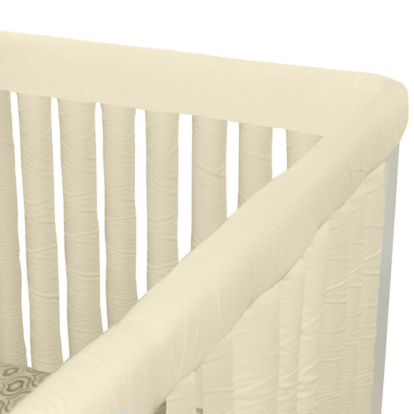 Wonder Bumpers Teething Guards in Organic Cotton - Ivory