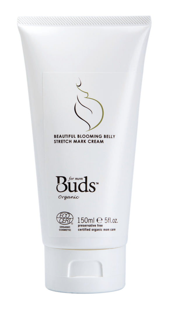 Buds Cherished Organics Beautiful Blooming Belly Stretch Mark Cream 150ml