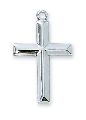 Plain Sterling Cross