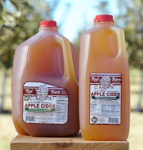 Red Barn - 1 Gallon Unfiltered Utah Grown Apple Cider 1Ct Fresh Produce