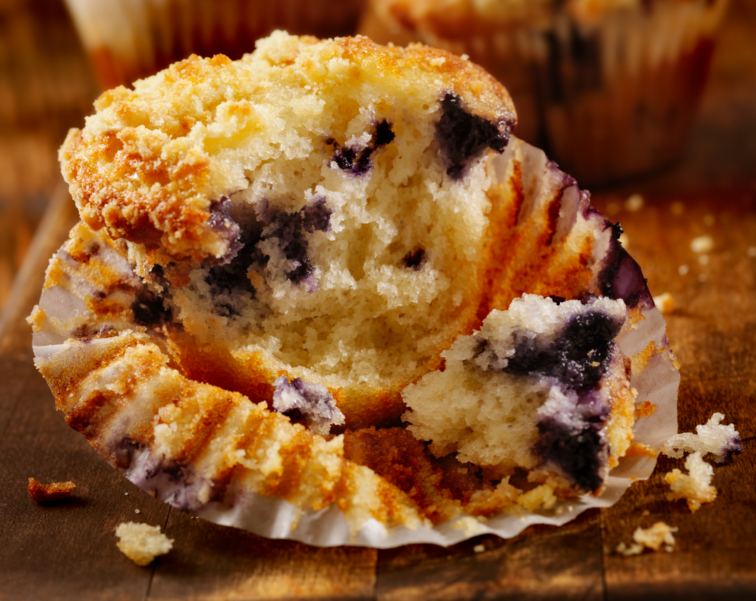Brickfire - 2.2Oz Blueberry Muffins 96Ct. Frozen Foods