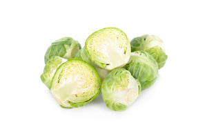 Fresh, Clean, Halved, Brussels Sprouts - 5lb, 2ct | Nicholas and Co.