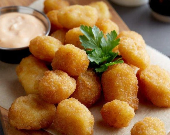 Breaded Oven Ready Cheddar Cheese Curds - 2lb., 6ct | Intros