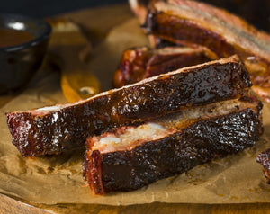 St. Louis Style Pork Ribs - Fully Cooked - 20lb