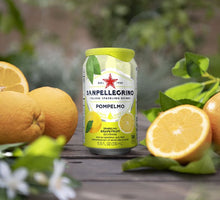 Load image into Gallery viewer, 330ml Sparkling Pompelmo Grapefruit Water - 24 cans | San Pellegrino
