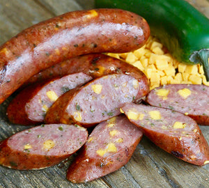 Jalapeño and Cheddar Cheese Bratwurst - 10ct, 1lb. Packs