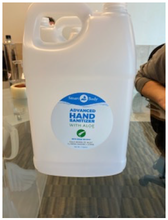 Smart - Hand Sanitizer Ready to Use - 1 Gallon