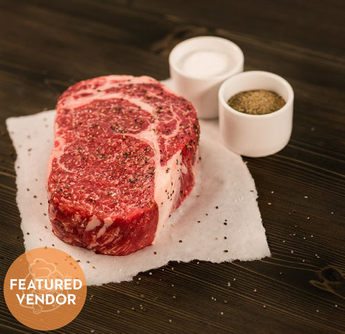 Two Rivers - 3.75Lb Avg 1/4 Netted Ribeye Roast 1Ct Meats