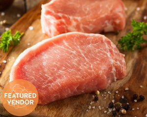 Two Rivers - 8Oz Cc Boneless Pork Chop 20Ct