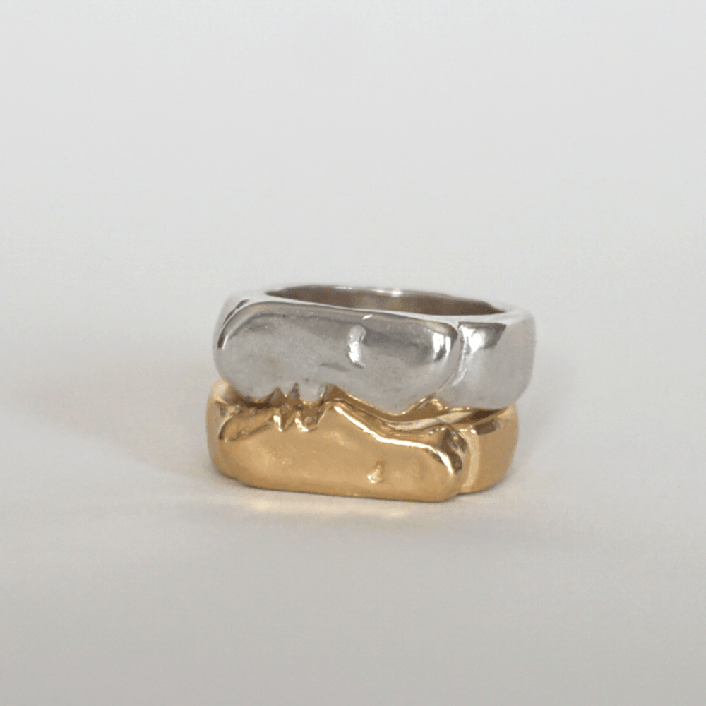 Kiss Ring, for Friends & Lovers