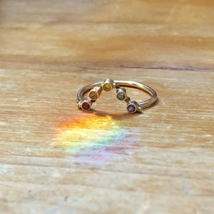 Load image into Gallery viewer, Rainbow Ring