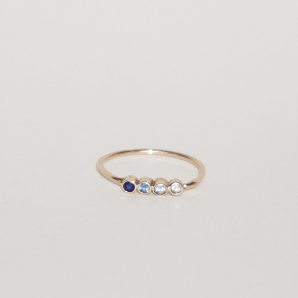Load image into Gallery viewer, Sapphire Rainbow Ring