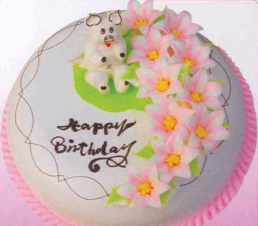 SD029 - Flower and Fun Cake